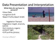 Data Presentation and Interpretation