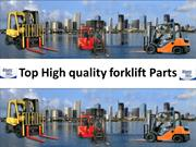 Top High quality forklift Parts