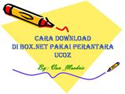 Cara Download pakai BOX.NET