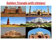 Golden Traingle with Udaipur