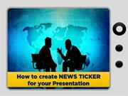 How to create a News ticker for your PowerPoint