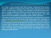 Electro Music Amusing Environment for Dance