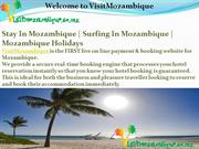 Mozambique Hotels & Resorts Travel to Mozambique  VisitMozambique