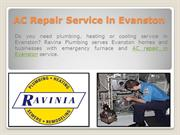 AC Repair Service in Evanston