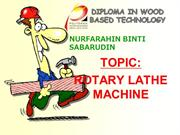Rotary Lathe Machine