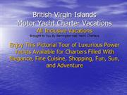 British Virgin Island Charter