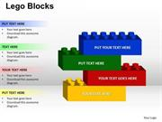 CREATE A BUILDING WITH LEGO BLOCKS 4 STAGES BUSINESS CONCEPT
