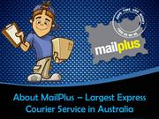 MailPlus - The Leading Express Courier Service Providing Company