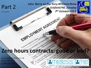 Are zero hours contracts good or bad? Part 2 of a 2 part series