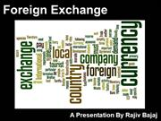 Foreign Exchange Regulations In India