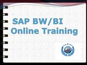 sap bi-bw online training