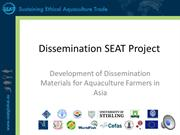 SEAT: Dissemination of materials for aquaculture farmers in Asia