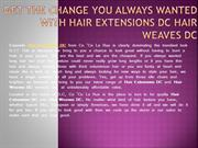Get the Change You Always Wanted with Hair