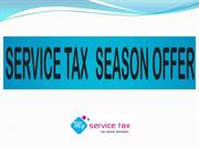 Service Tax Season Offer - My Service Tax
