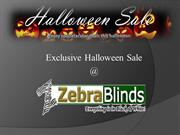 Exclusive Halloween Sale - Window Treatment