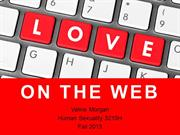 Love on the Web presentation