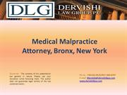 Medical Malpractice Attorney, Bronx, New York