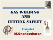 Gas Welding and Cutting Safety