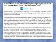 DivTECH Releases Direct Email Offering Allowing Companies