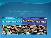 Qu es la Democracia