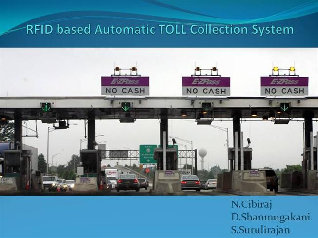 RFID Based Automatic TOLL Collection System |authorSTREAM