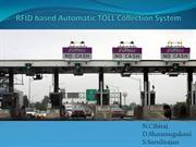 RFID based Automatic TOLL Collection System