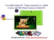 tablets with dual cameras & cheap android 4.1 tablet