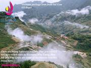 Vietnam package tour from Sai Gon