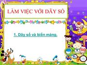 Lam viec voi day so