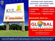 Kul Builders Residential Scheme Outdoor Displays