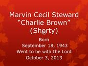 Marvin Cecil Steward