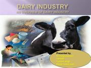 Dairy industry and AMUL