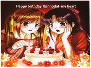 only for you my friend Rannod