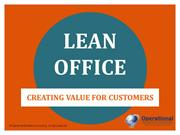 Lean Office by Operational Excellence Consulting