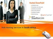 Web Hosting Services in South Africa