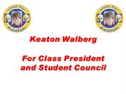 Speech for Class President PowerPoint 2013-2014