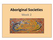 Aboriginal Societies Presentation (LEP2)