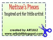 Henri Matisse - ARTIST - making Matisse's Pieces with little artist