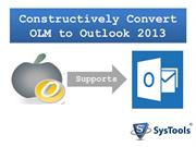 Mac to Outlook 2013 Conversions
