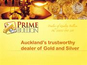 PrimeBullion- Auckland based supplier of gold and silver