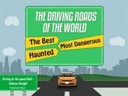 An Infographic on Best, Most Dangerous and Haunted Roads in the world