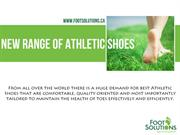 New Range Of Athletic Shoes |Footsolutions Canda |