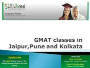 GMAT classes in Jaipur,Pune and Kolkata