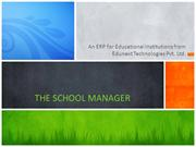 The School Manager