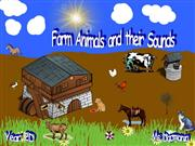 Farm animals and sounds