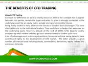 The Benefits of CFD Trading