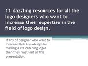 11 dazzling resources for all the logo designers
