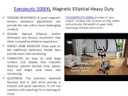 Exerpeutic 1000XL Magnetic Elliptical-Heavy Duty