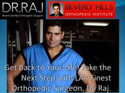 Orthopedic Surgery Beverly Hills