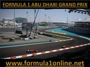 Watch Online Formula 1 ABU DHABI Grand Prix 03-11-2013 Full Coverage